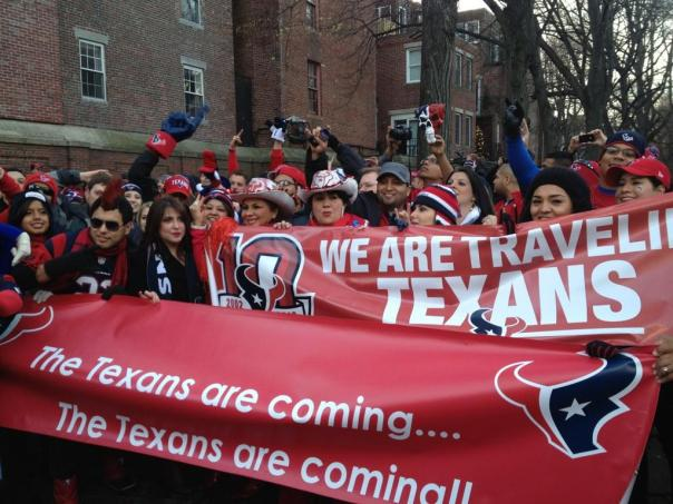 The Texans are coming...
